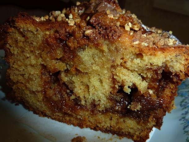 gâteau caramel et mars hum 011