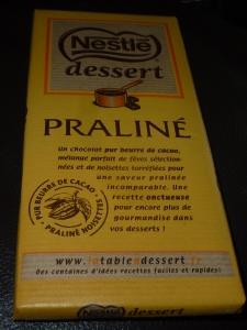 tablette chocolat praliné 001