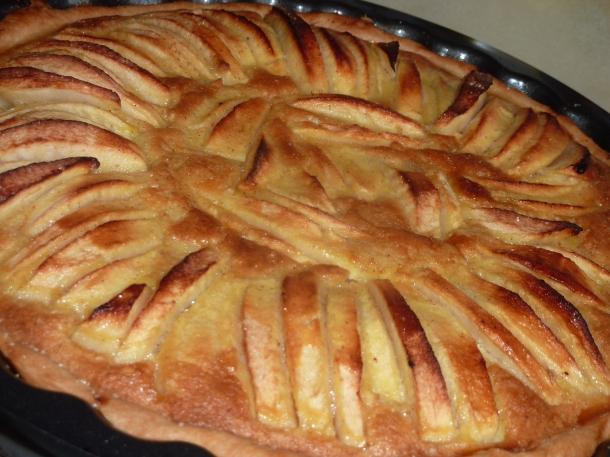 tarte pommes vanille cannelle 005