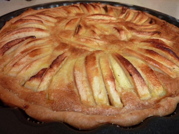 tarte pommes vanille cannelle 012