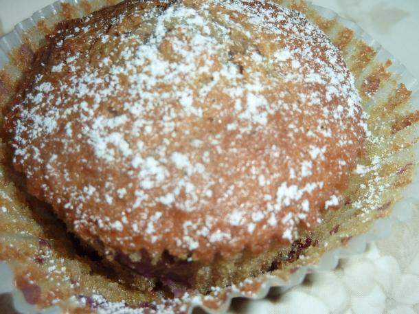 glacz a la banane et muffins cerises chocolat 005
