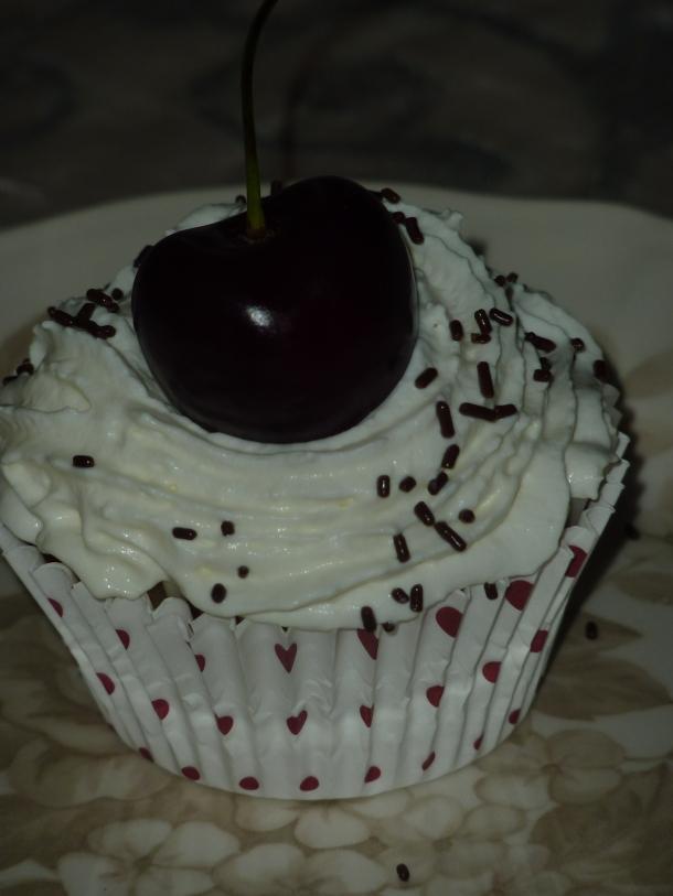 muffins chocolatés aux griottes 009