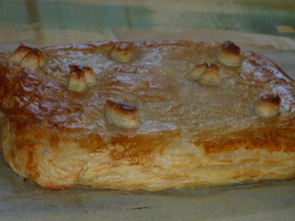 feuilletée jambon fromage béchamel 035