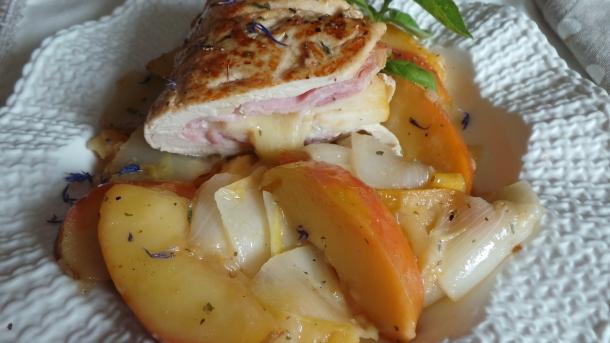 escalope de poulet pomme 005
