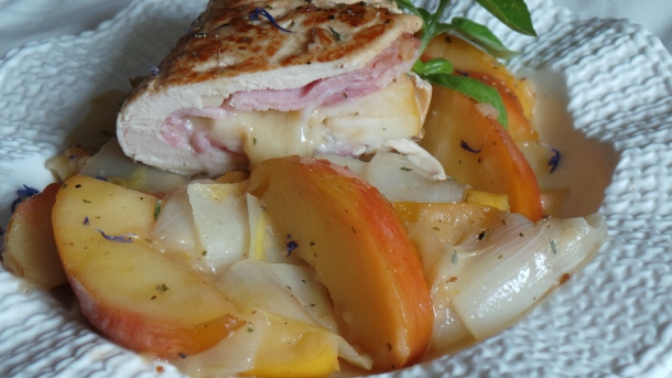 escalope de poulet pomme 011