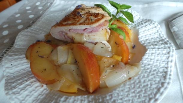 escalope de poulet pomme 017